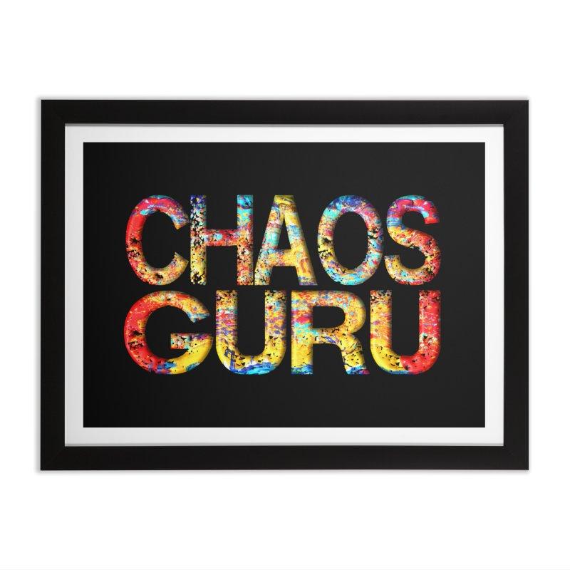 Chaos Guru Home Framed Fine Art Print by Leading Artist Shop