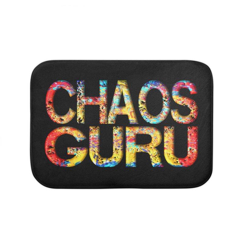 Chaos Guru Home Bath Mat by Leading Artist Shop