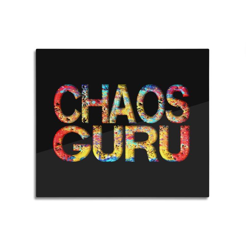 Chaos Guru Home Mounted Aluminum Print by Leading Artist Shop