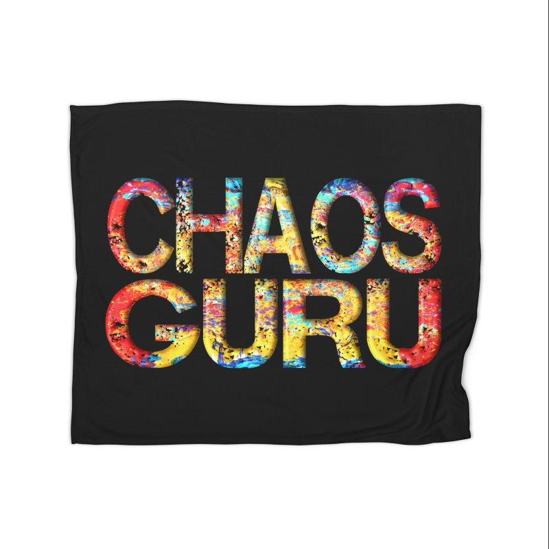 Chaos Guru Home Fleece Blanket Blanket by Leading Artist Shop