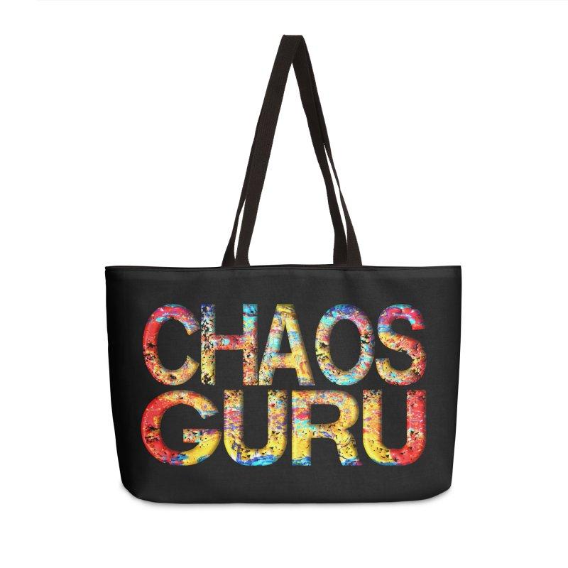 Chaos Guru Accessories Weekender Bag Bag by Leading Artist Shop