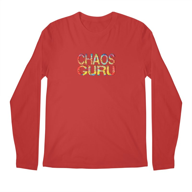 Chaos Guru Men's Regular Longsleeve T-Shirt by Leading Artist Shop