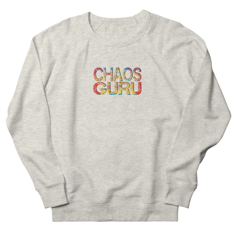 Chaos Guru Women's French Terry Sweatshirt by Leading Artist Shop