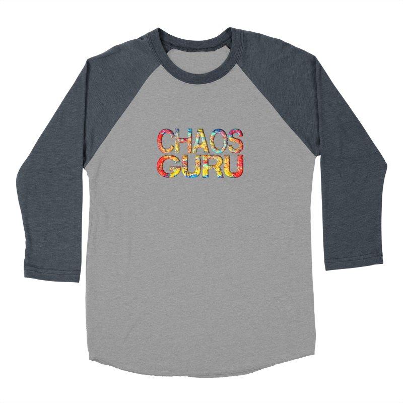 Chaos Guru Men's Baseball Triblend Longsleeve T-Shirt by Leading Artist Shop