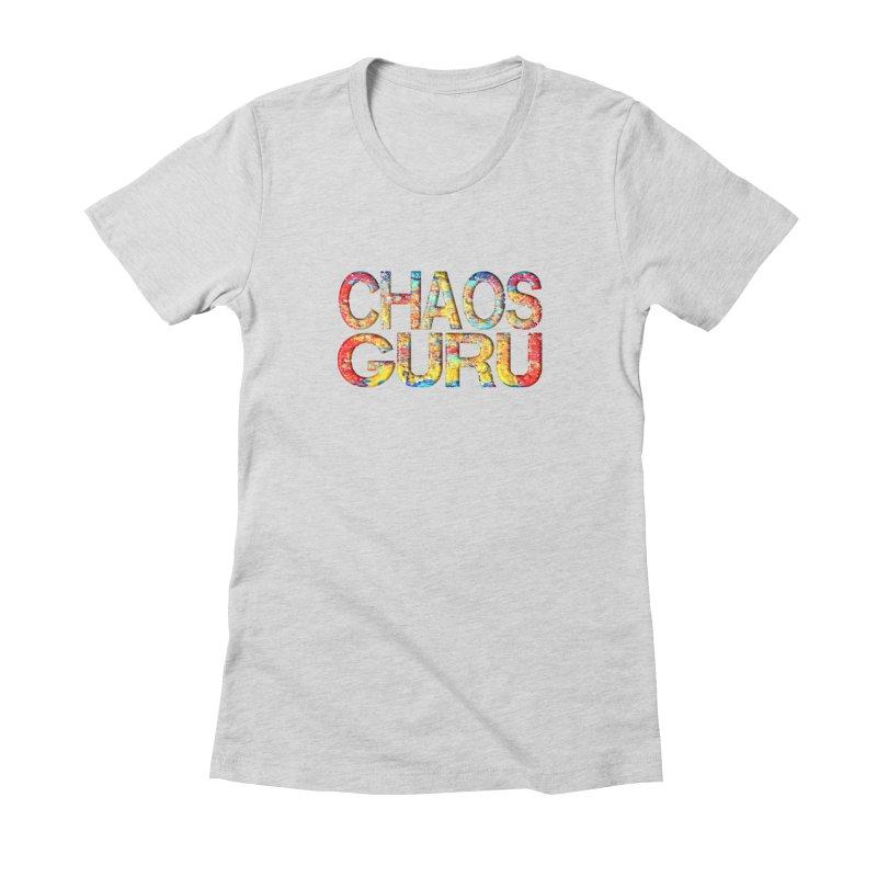 Chaos Guru Women's Fitted T-Shirt by Leading Artist Shop