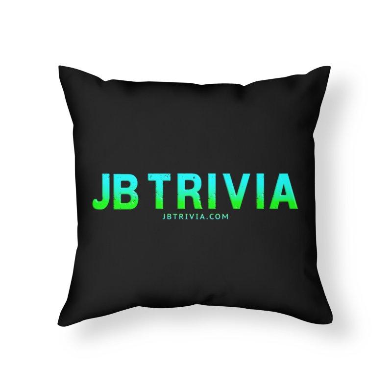 JB Trivia Shirts Home Throw Pillow by Leading Artist Shop