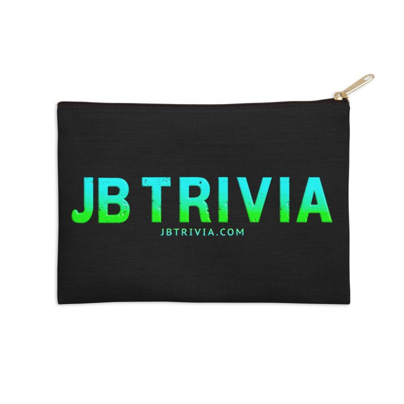 JB Trivia Shirts Accessories Zip Pouch by Leading Artist Shop