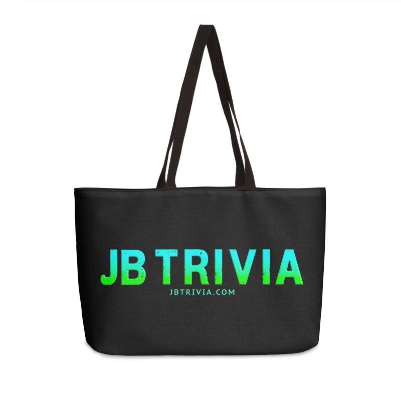 JB Trivia Shirts Accessories Weekender Bag Bag by Leading Artist Shop