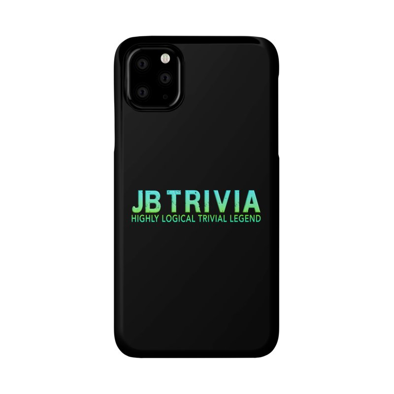 JB Trivia Shirts Accessories Phone Case by Leading Artist Shop