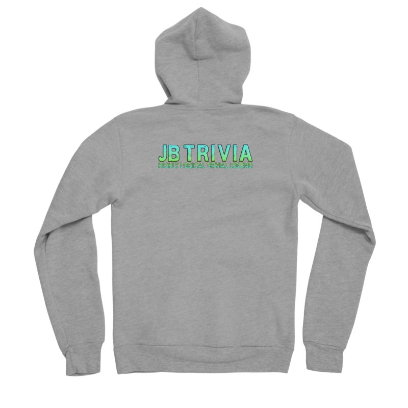 JB Trivia Shirts Men's Sponge Fleece Zip-Up Hoody by Leading Artist Shop