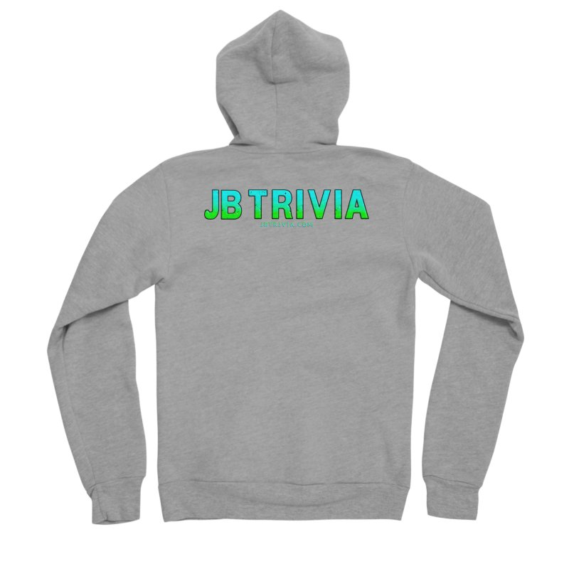 JB Trivia Shirts Women's Sponge Fleece Zip-Up Hoody by Leading Artist Shop