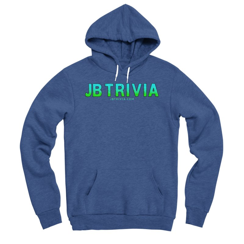 JB Trivia Shirts Men's Sponge Fleece Pullover Hoody by Leading Artist Shop