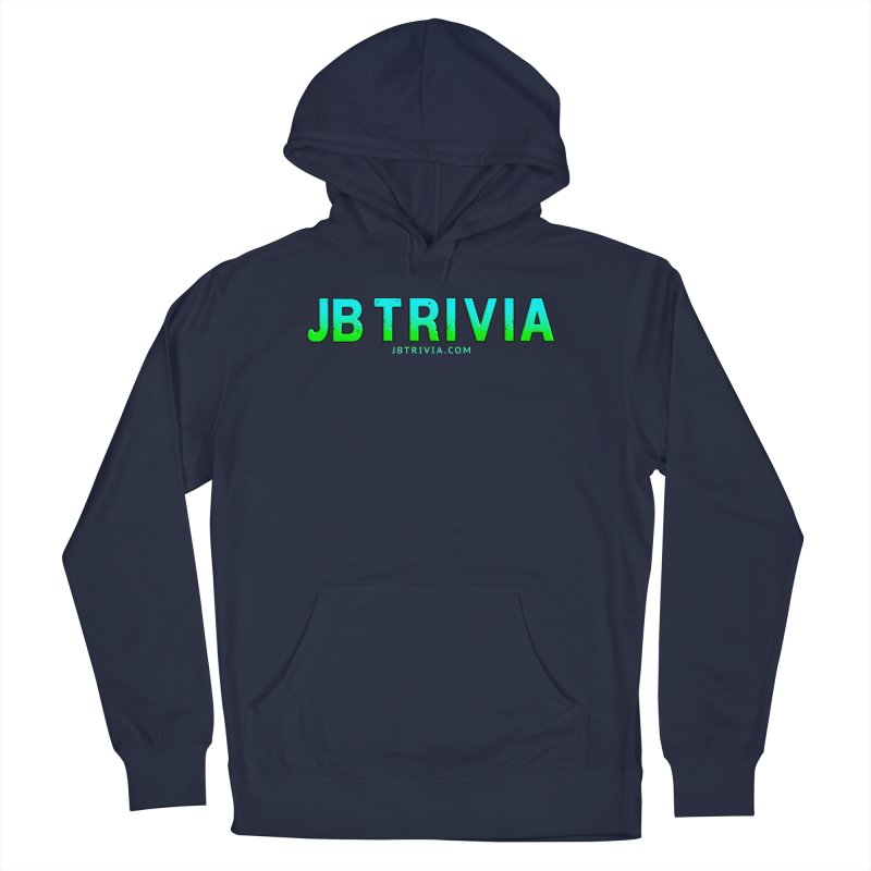 JB Trivia Shirts Men's French Terry Pullover Hoody by Leading Artist Shop
