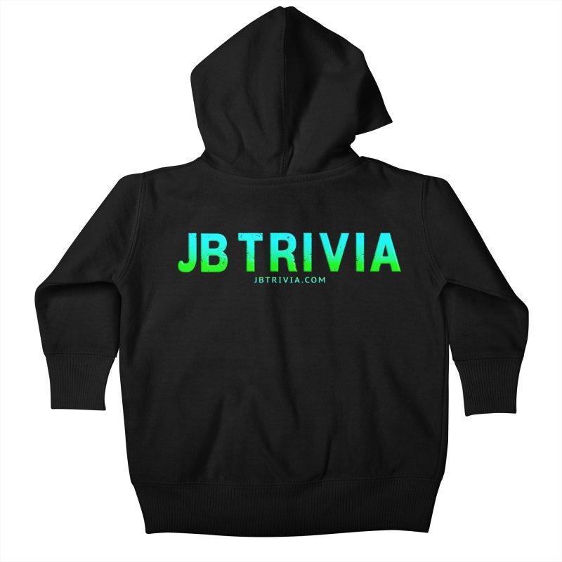 JB Trivia Shirts Kids Baby Zip-Up Hoody by Leading Artist Shop