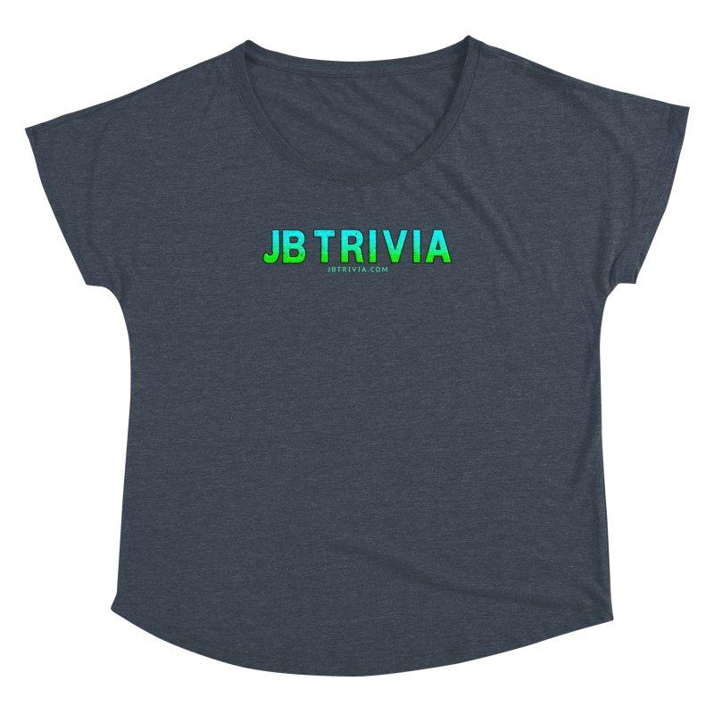 JB Trivia Shirts Women's Dolman Scoop Neck by Leading Artist Shop