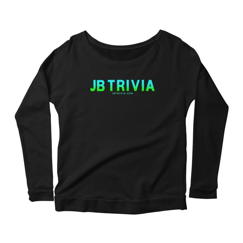 JB Trivia Shirts Women's Scoop Neck Longsleeve T-Shirt by Leading Artist Shop