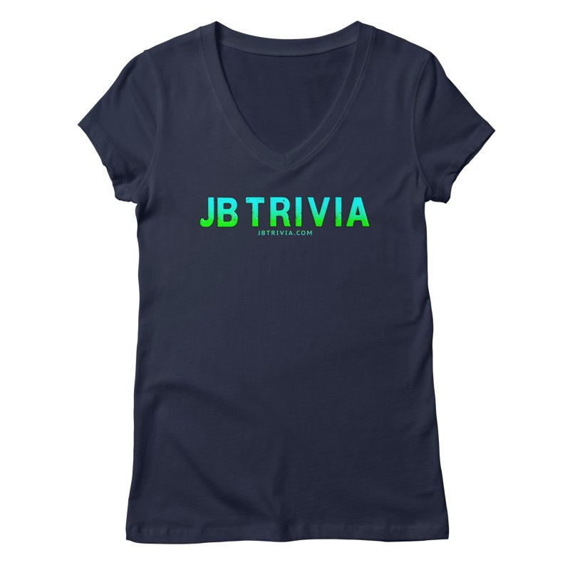 JB Trivia Shirts Women's Regular V-Neck by Leading Artist Shop
