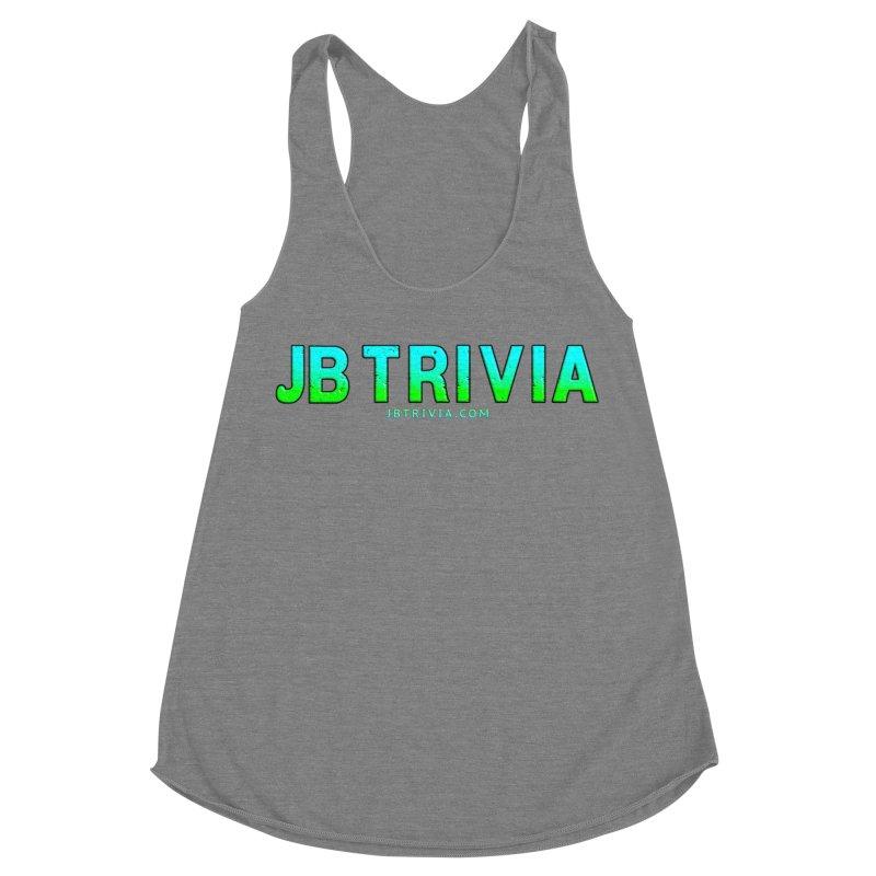 JB Trivia Shirts Women's Racerback Triblend Tank by Leading Artist Shop