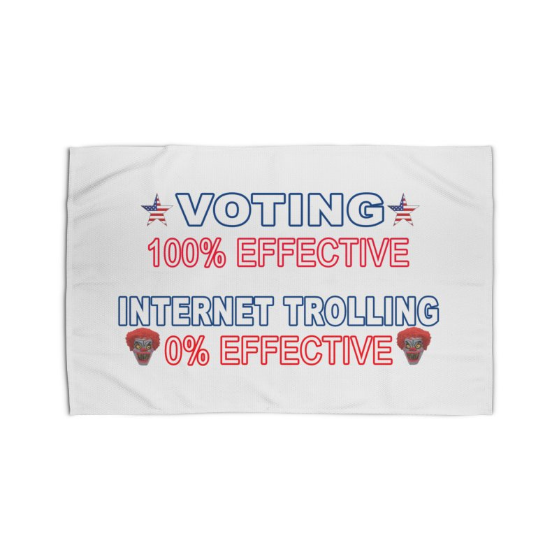 Voting 100% Effective Internet Trolling 0% Effective Home Rug by Leading Artist Shop