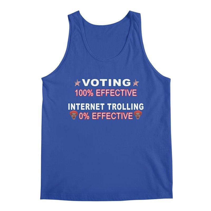 Voting 100% Effective Internet Trolling 0% Effective Men's Regular Tank by Leading Artist Shop