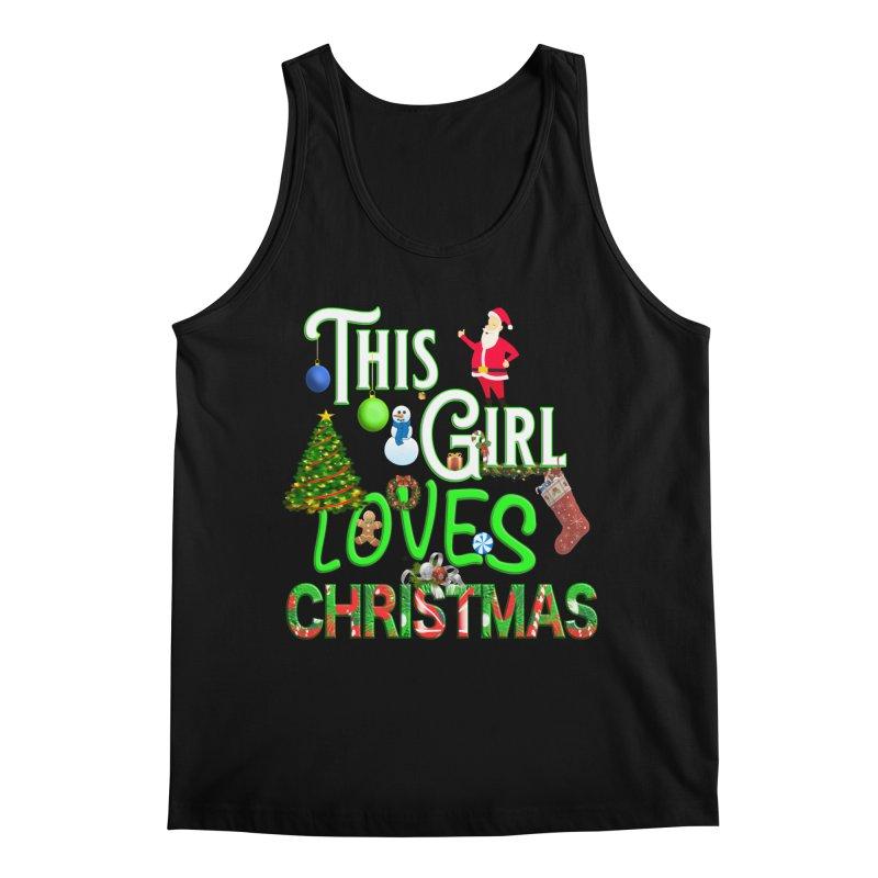 This Girl Loves Christmas Men's Regular Tank by Leading Artist Shop