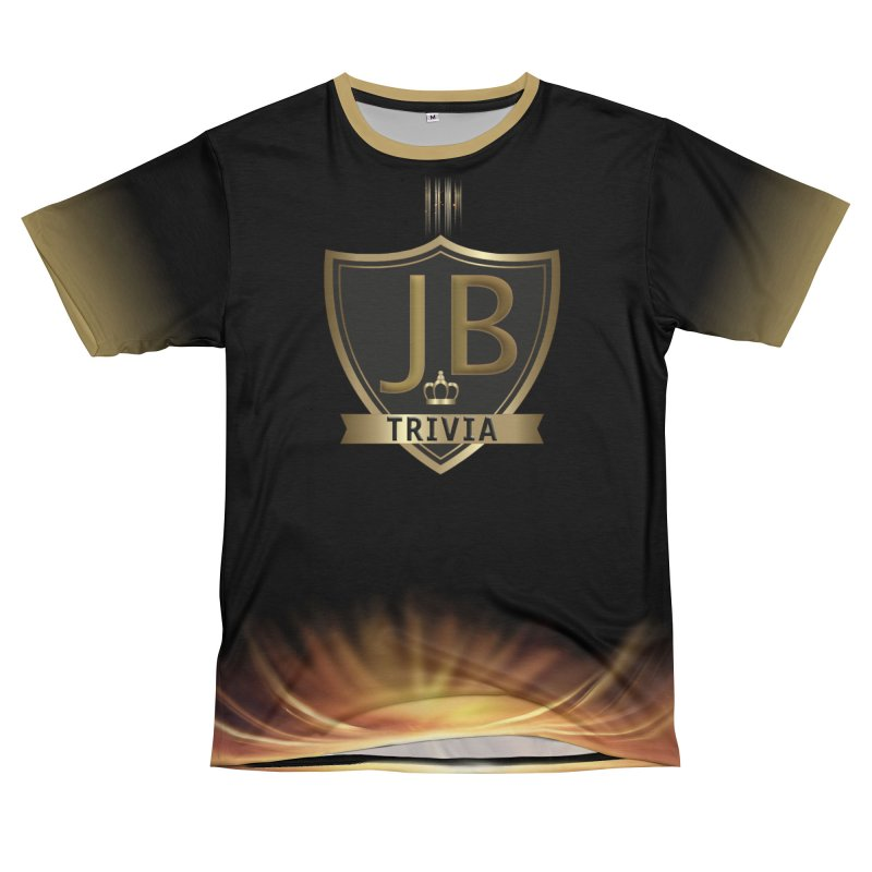 JB Trivia Black Gold Men's T-Shirt Cut & Sew by Leading Artist Shop