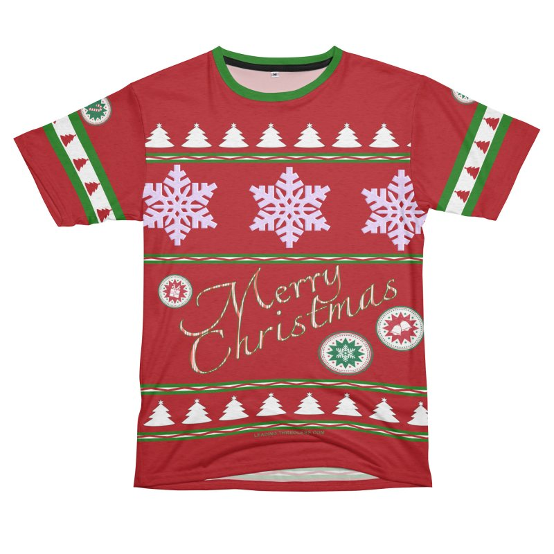 Ugly Christmas Shirt 2 Women's Unisex French Terry T-Shirt Cut & Sew by Leading Artist Shop