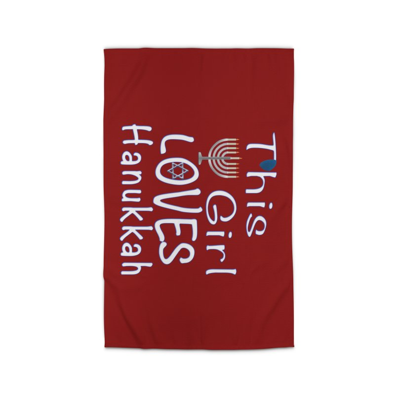 This Girl Loves Hanukkah Shirts n More Home Rug by Leading Artist Shop