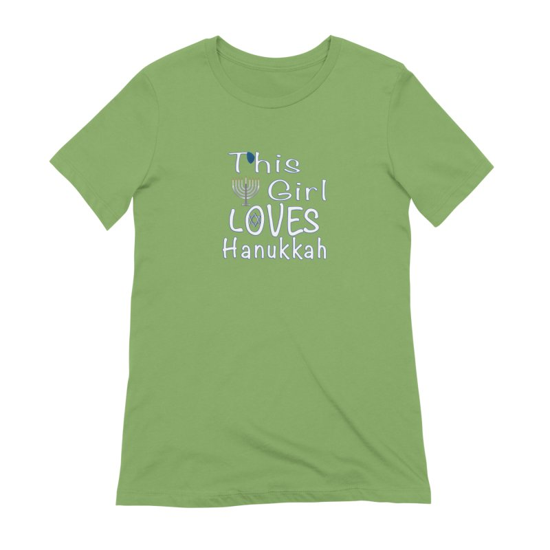 This Girl Loves Hanukkah Shirts n More Women's Extra Soft T-Shirt by Leading Artist Shop