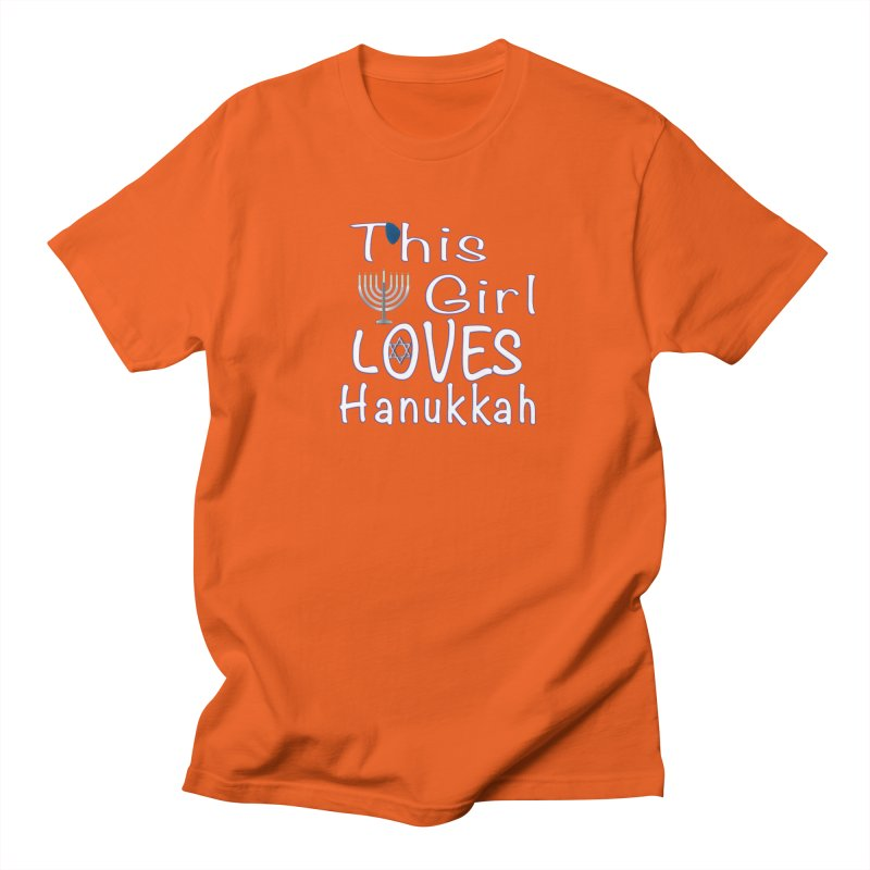 This Girl Loves Hanukkah Shirts n More Men's Regular T-Shirt by Leading Artist Shop