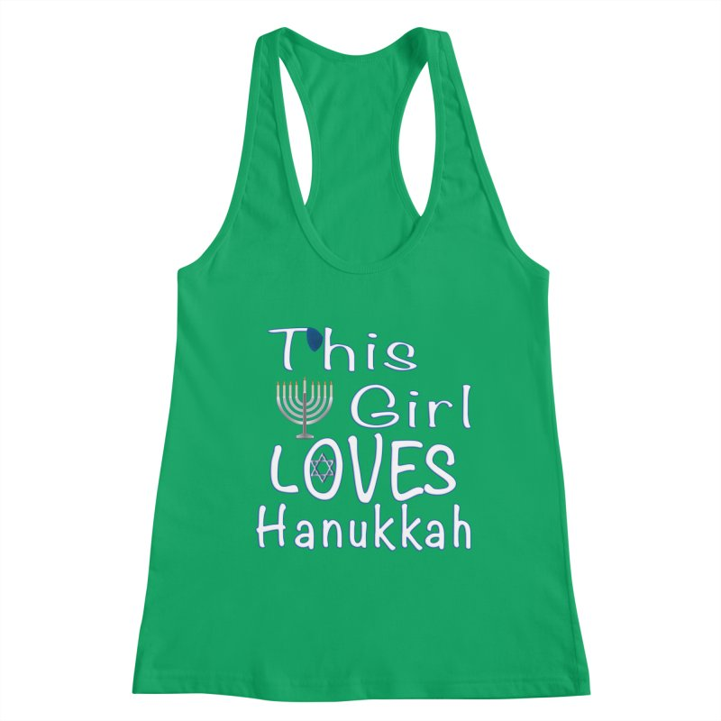 This Girl Loves Hanukkah Shirts n More Women's Tank by Leading Artist Shop