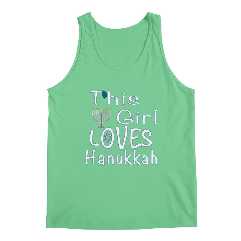 This Girl Loves Hanukkah Shirts n More Men's Regular Tank by Leading Artist Shop