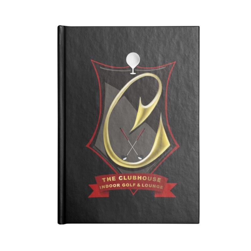 The Golf Club Accessories Blank Journal Notebook by Leading Artist Shop