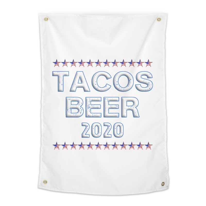 Tacos Beer 2020 With Stars Home Tapestry by Leading Artist Shop