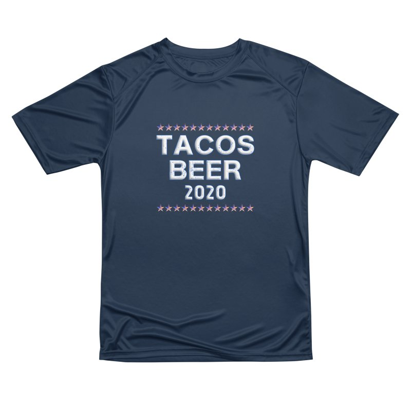 Tacos Beer 2020 With Stars Women's Performance Unisex T-Shirt by Leading Artist Shop