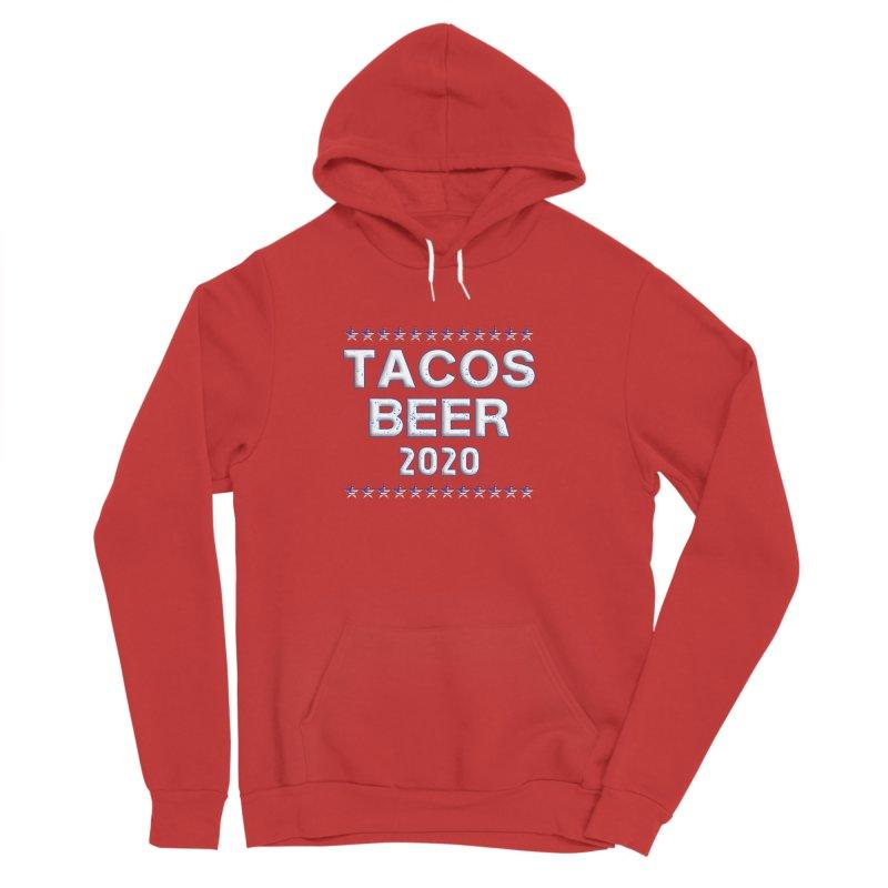 Tacos Beer 2020 With Stars Women's Sponge Fleece Pullover Hoody by Leading Artist Shop