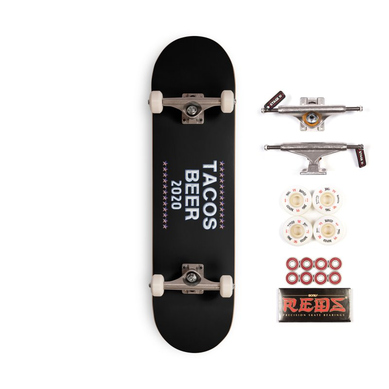Tacos Beer 2020 With Stars Accessories Complete - Pro Skateboard by Leading Artist Shop