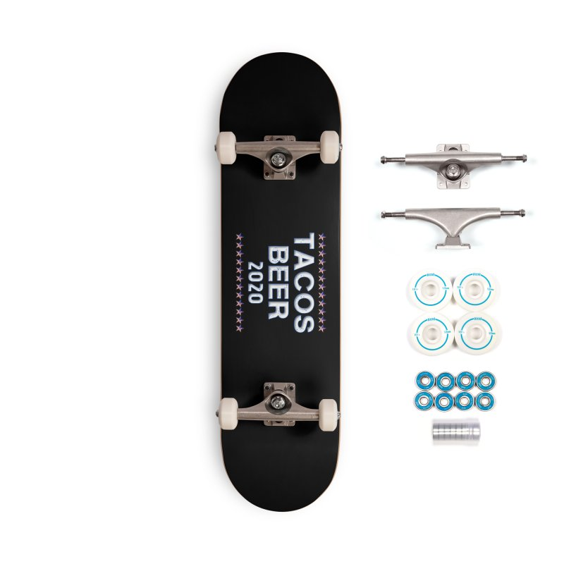 Tacos Beer 2020 With Stars Accessories Complete - Basic Skateboard by Leading Artist Shop