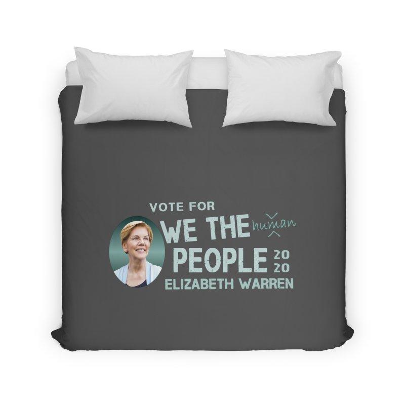 Elizabeth Warren We The People Human Home Duvet by Leading Artist Shop