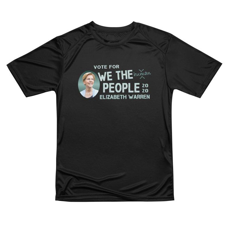 Elizabeth Warren We The People Human Women's Performance Unisex T-Shirt by Leading Artist Shop