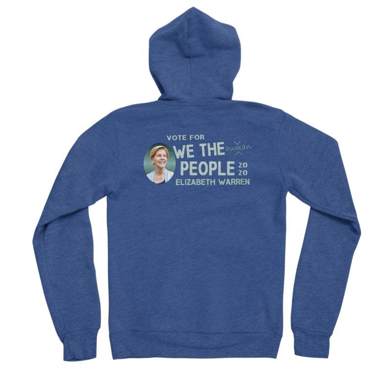 Elizabeth Warren We The People Human Men's Sponge Fleece Zip-Up Hoody by Leading Artist Shop