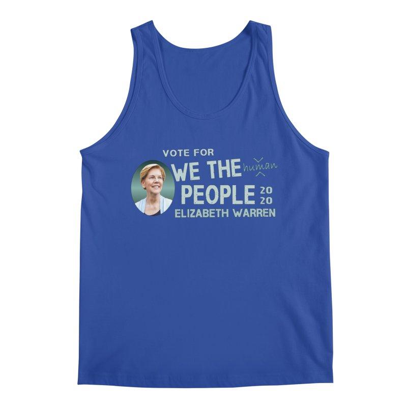 Elizabeth Warren We The People Human Men's Regular Tank by Leading Artist Shop
