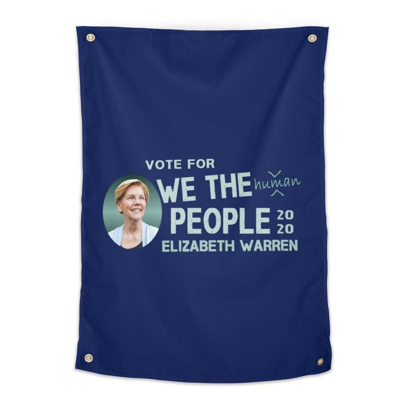 Elizabeth Warren We The People Human Home Tapestry by Leading Artist Shop