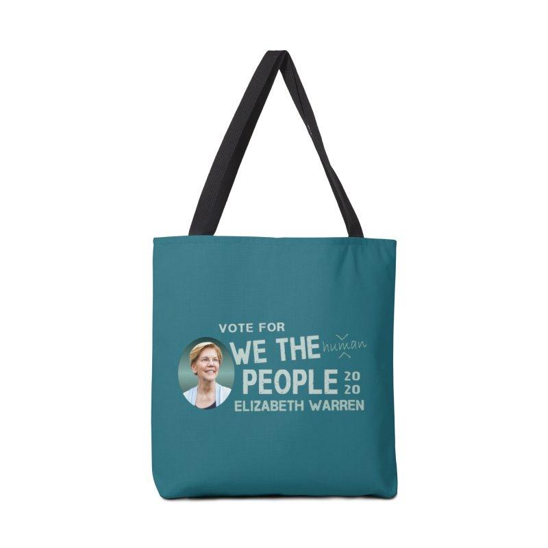 Elizabeth Warren We The People Human Accessories Tote Bag Bag by Leading Artist Shop