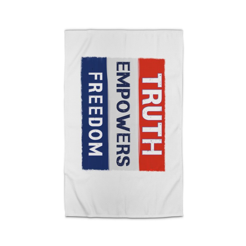 Truth Empowers Freedom Shirts n More Home Rug by Leading Artist Shop