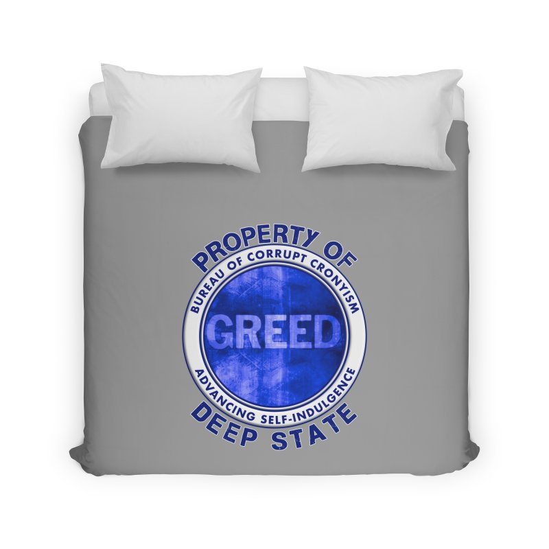 Property of Deep State Home Duvet by Leading Artist Shop