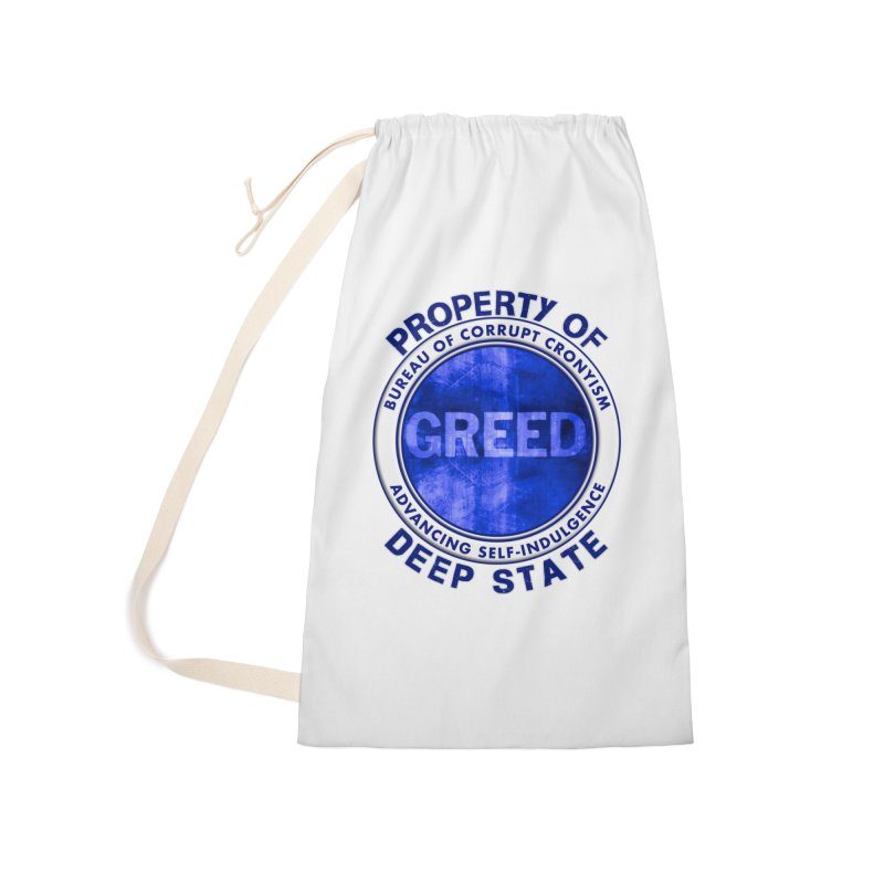 Property of Deep State Accessories Laundry Bag Bag by Leading Artist Shop
