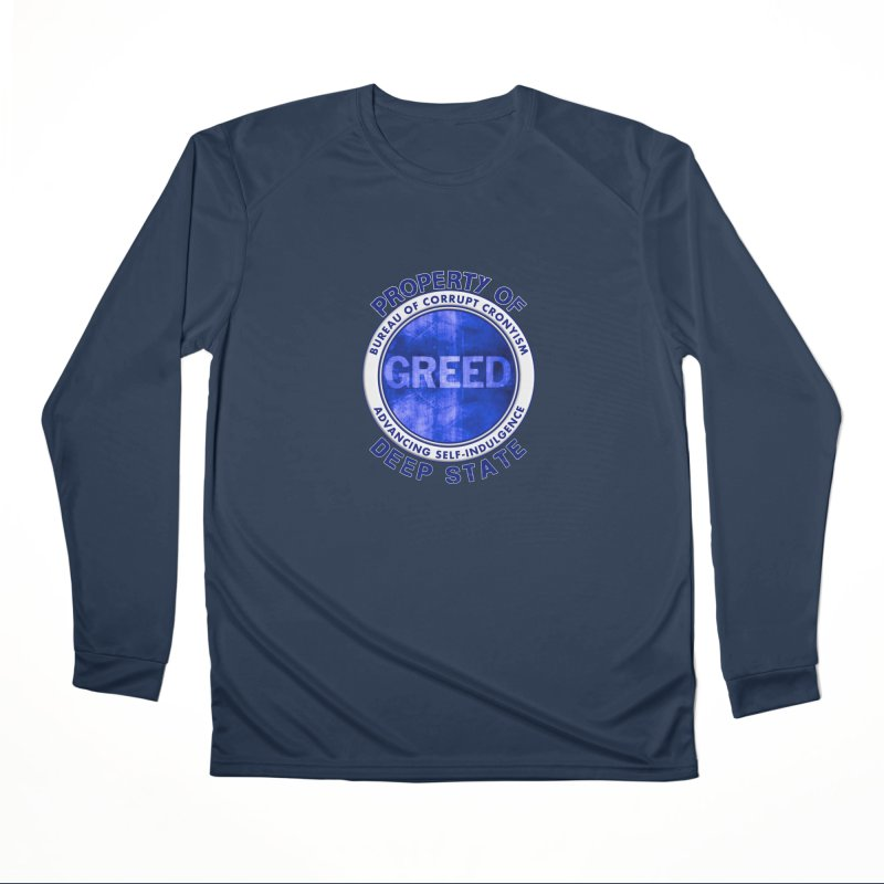 Property of Deep State Men's Performance Longsleeve T-Shirt by Leading Artist Shop