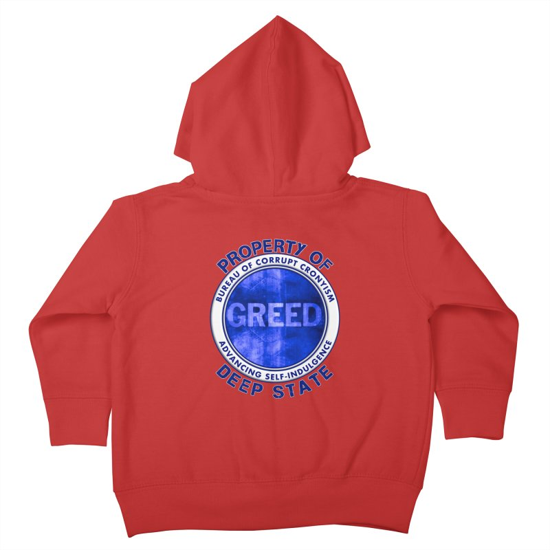 Property of Deep State Kids Toddler Zip-Up Hoody by Leading Artist Shop