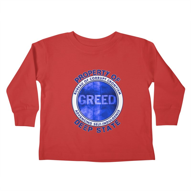 Property of Deep State Kids Toddler Longsleeve T-Shirt by Leading Artist Shop